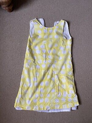Girls White And Yellow Marèse Dress Age 10 • 18£
