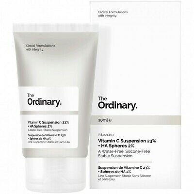 AU24.90 • Buy THE ORDINARY Vitamin C Suspension 23% + HA Spheres 2% 30mL Skincare CHEAP