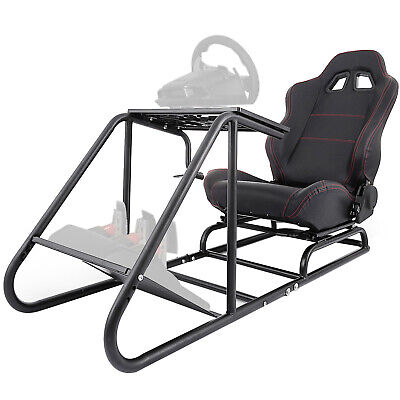 Racing Simulator Cockpit Driving Seat Gaming Chair Slide Dynamic Reinforced • 229.99£