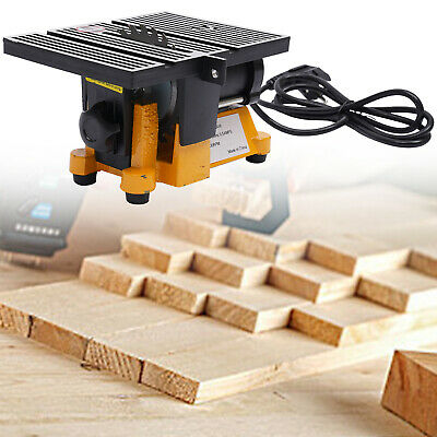4'' Mini Table Bench Saw Cutter Portable Wood Glass Stone PVC Cutting Machine • 42£