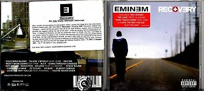 Eminem CD ALBUM WITH PROMO / INFO STICKER Recovery • 14.99£