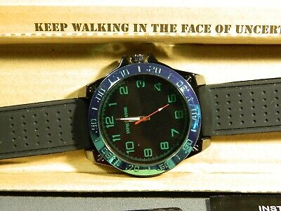 Men's Watch Infantry Watch Co. IF-011-GR-R  INFILTRATOR  GREEN #s, RUBBER BAND • 3.67£
