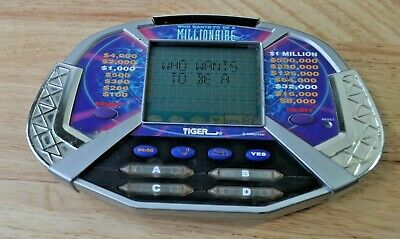 £4.96 • Buy Who Wants To Be A Millionaire Electronic Handheld Game- Tiger 2000*Tested Works*