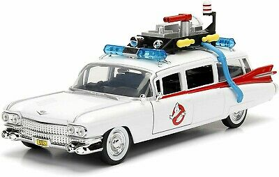 Jada Ghostbusters 99731 Cadillac Ecto-1 1:24 Diecast Model New Sealed UK Stock • 34.95£