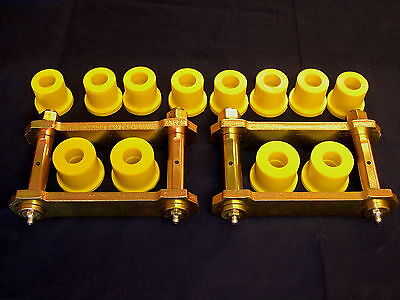 AU125 • Buy Navara D22 4wd Extended Rear Greasable Spring Shackle & Poly  Bush Kit 1997 On.
