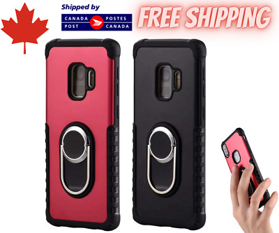 $ CDN5.95 • Buy For IPhone 7 8 XR 11 Samsung S8 S9 S10 Magnetic Ring Shockproof Phone Case Cover