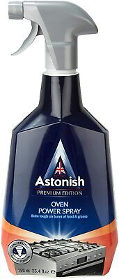 Astonish Specialist Premium Extra Strength Tough Oven Cleaning Power Spray 750ml • 6.99£
