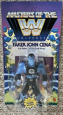 $31.88 • Buy Masters Of The WWE Universe Jon Cena As Faker Walmart Exclusive MOTU Brand New