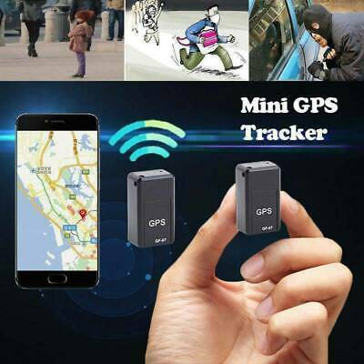 Magnetic Mini GPS Tracker Car Spy GSM GPRS Real Time Tracking Locator Device NEW • 9.65£