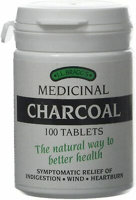 £7.99 • Buy Medicinal Charcoal 100 Tablets Natural Food Supplement For Indigestion And Detox