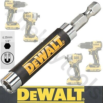 DEWALT MAGNETIC Bit Holder Fits MAKITA BOSCH MILWAUKEE AEG HILTI IMPACT DRIVER • 3.99£
