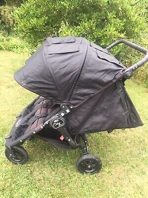 Baby Jogger City Mini GT Double Stroller - Steel Grey • 150£