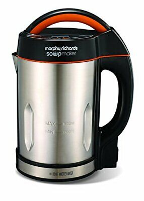 Morphy Richards 48822 Soup Maker, Stainless Steel, 1.6 L, Makes Soup In 21 Mins • 70.22£