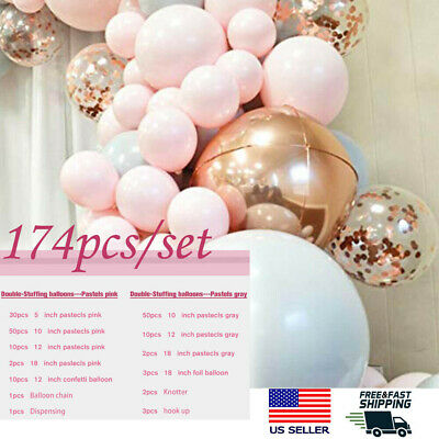 $17.85 • Buy Balloons+Balloon Arch Kit Set Birthday Wedding Baby Shower Garland Party Decor