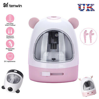 £11.16 • Buy Tenwin Automatic Electric Colored Pencil Sharpener Cute Desktop Battery Operated