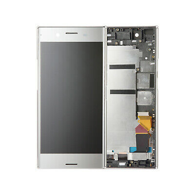 $ CDN71.01 • Buy LCD Display Touch Screen Digitizer Silver Frame For Sony Xperia XZ Premium G8142