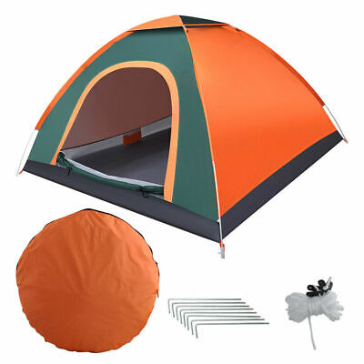 AU37.99 • Buy 2-3 Person Instant Automatic Pop Up Portable Tent Camping Beach Outdoor Shelter
