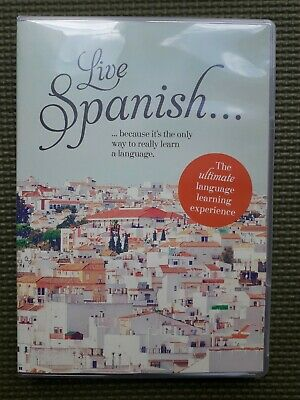 Live Spanish: The Ultimate Language Learning Experience By Teach Yourself Book • 3.99£