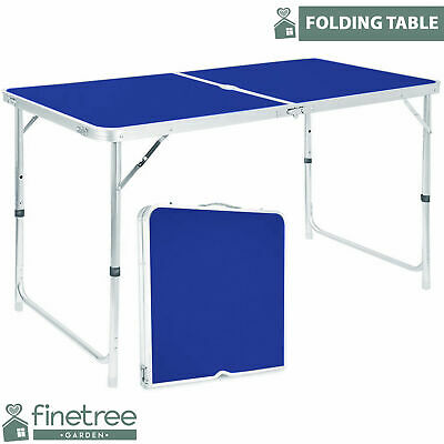 Banquet Heavy Duty Folding Table Portable Plastic Camping Garden Party Catering • 22.19£