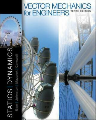 Vector Mechanics For Engineers Statics And Dynamics By Beer • 26.47£