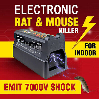 Electronic Mouse Trap Victor Control Rat Killer Pest Electric Rodent Zapper UK • 27.99£