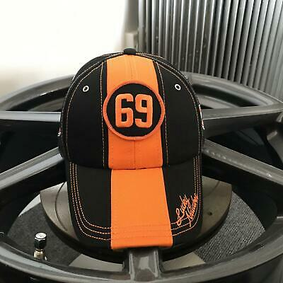 Grandprix Originals Gulf 69 Lucky Number Cap Lucky Number Black Orange • 22.49£