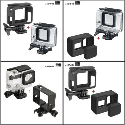 $ CDN10.62 • Buy Diving Waterproof Housing Case For GoPro Hero6/5/4 Protective Camera Accessories