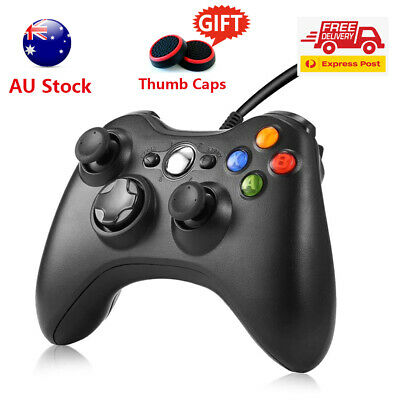 AU32.98 • Buy NEW Wired Controller Gamepad For Xbox 360/Slim Console Dualshock Windows PC USB
