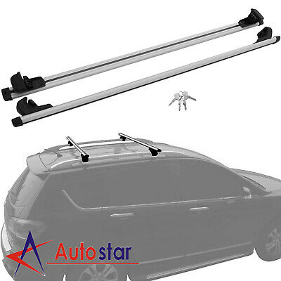 $50.97 • Buy New 53  135cm Car Top Roof Rack Cross Bars Luggage Rail Cargo Carrier Anti-theft