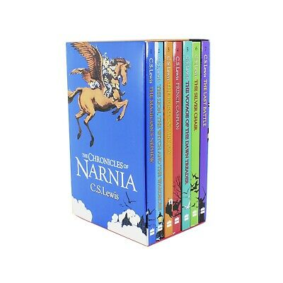 £10.40 • Buy Chronicles Of Narnia 7 Books Children Collection Paperback Set By C S Lewis