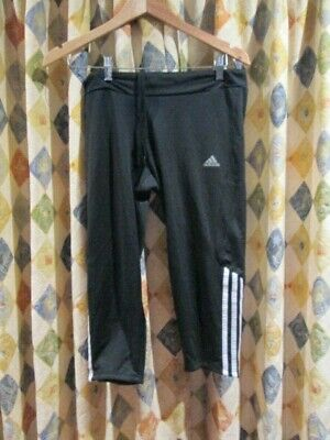 AU24.99 • Buy Womens ADIDAS Response Active Wear Sports Gym Pants 3/4 SZ 10-12