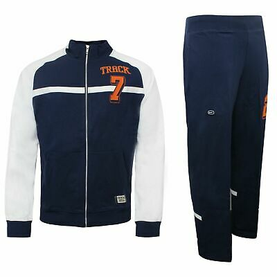 Nike Mens Tracksuit 1972 Track Top Pants Joggers Navy White 193068 451 • 34.99£