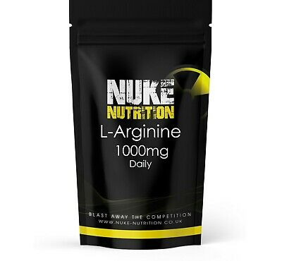 £6.95 • Buy L-ARGININE 1000mg Muscle Growth Nitric Oxide Tablets Amino Acid Capsules X 60
