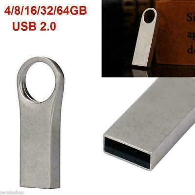 USB 2.0 WaterProof Flash Memory 32GB 16GB 4GB Metal Drive Storage Stick Lot Ei • 3.89£