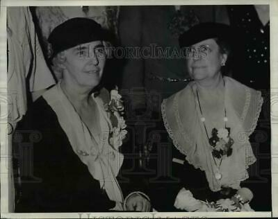 1934 Press Photo Mrs Herbert Hoover At Girl Scout's & Camp Fire Girl's Reception • 15.66£