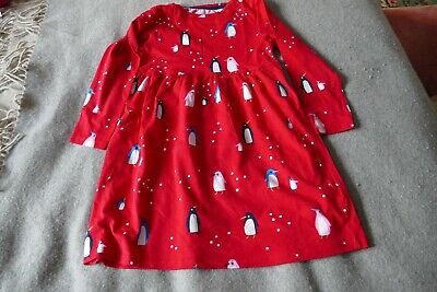 Debenhams Blue Zoo Girls 5-6 Yrs Red Christmas Dress - Used Immaculate • 7£