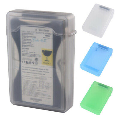 3.5 Inch Hard Drive Protective Box HDD Storage Case Cover Shockproof Dust-proof • 5.79£