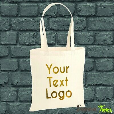 Personalised Custom Printed Tote Bag 4 Life Hen,Birthday Party,Logo,Text • 3.99£
