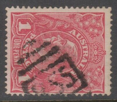 AU42.50 • Buy NSW - NUMERAL POSTMARKS - BN '855' (Iluka) On KGV 1d Red, Rated 4R.