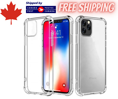 $ CDN3.95 • Buy New Clear Bumper Shockproof Phone Case - IPhone & Samsung Models