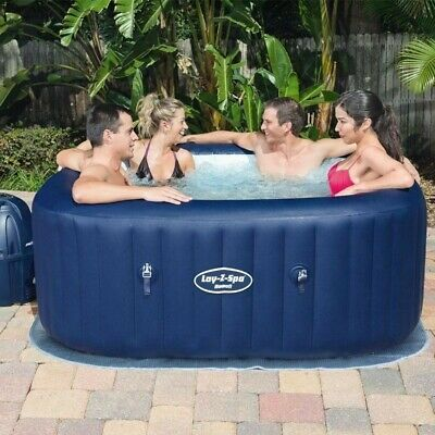 Lay-Z-Spa Hawaii 4-6 Person AirJet Spa Hot Tub | Free Next Day Delivery  • 1,000£