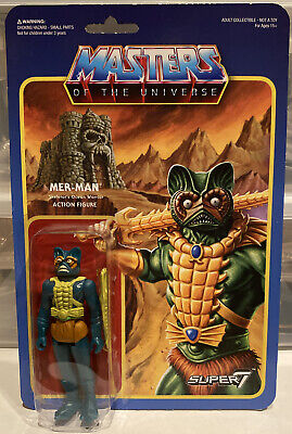 $34.99 • Buy Masters Of The Universe Mer-Man ReAction Figure Super7 Mattel 2015 Wave 1