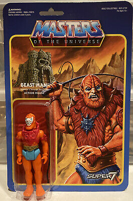 $34.99 • Buy Masters Of The Universe Beast Man ReAction Figure Super7 Mattel 2015 Wave 1