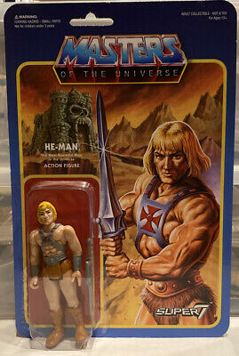 $39.99 • Buy Masters Of The Universe He Man ReAction Figure Super7 Mattel 2015 Wave 1