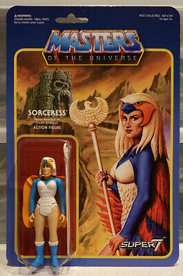 $99.99 • Buy Masters Of The Universe Sorceress ReAction Figure Super7 Mattel 2016 Wave 2