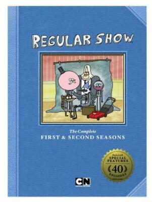 REGULAR SHOW: SEASON 1 & SEASON 2 (Region 1 DVD,US Import.) • 28.59£