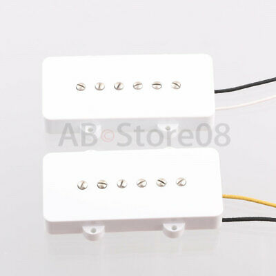 $ CDN28.99 • Buy Guitar Pickups Alnico 5 For Jazzmaster Style Electric Guitar White