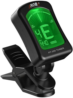 $ CDN40.41 • Buy Guitar Clip Tuner, 360-Degree Rotating Electronic Digital Tuner For Acoust