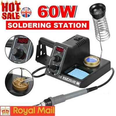 60W Soldering Iron Station Welding Stand Kit LED Digital Display Temperature NEW • 23.90£