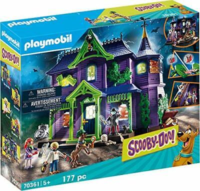 SCOOBY-DOO! PLAYMOBIL  70361 Scooby-Doo! Mystery Mansion 5+ • 123.99£
